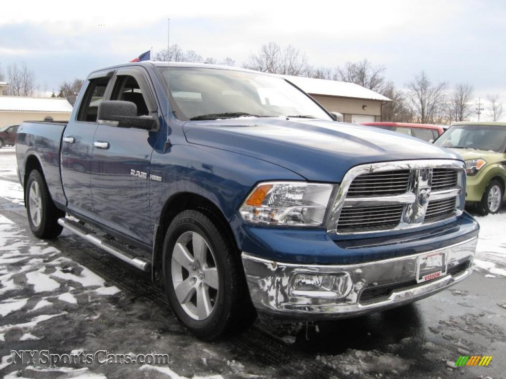 2010 Dodge Ram 1500 Big Horn Quad Cab in Deep Water Blue Pearl - 132437 | NYSportsCars.com ...
