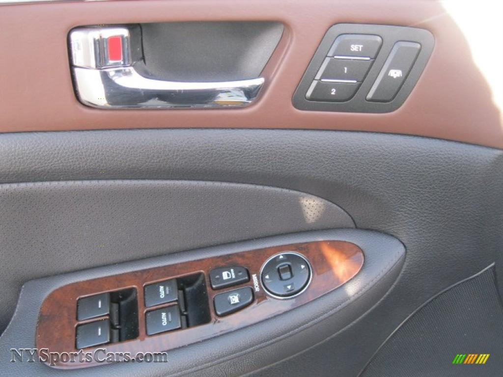 Vision Hyundai Canandaigua U003eu003e 2009 Hyundai Genesis 3.8 Sedan In Titanium  Gray Metallic Photo #