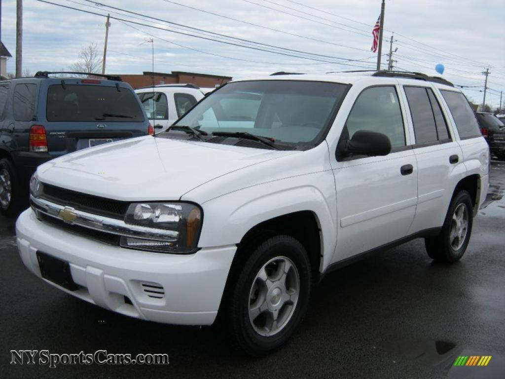 2007 Chevrolet Trailblazer Ls 4x4 In Summit White 119955
