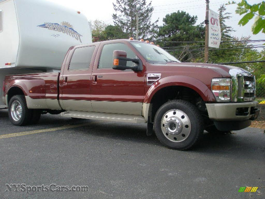 2008 F450 Super Duty King Ranch Crew Cab 4x4 Dually - Dark Copper
