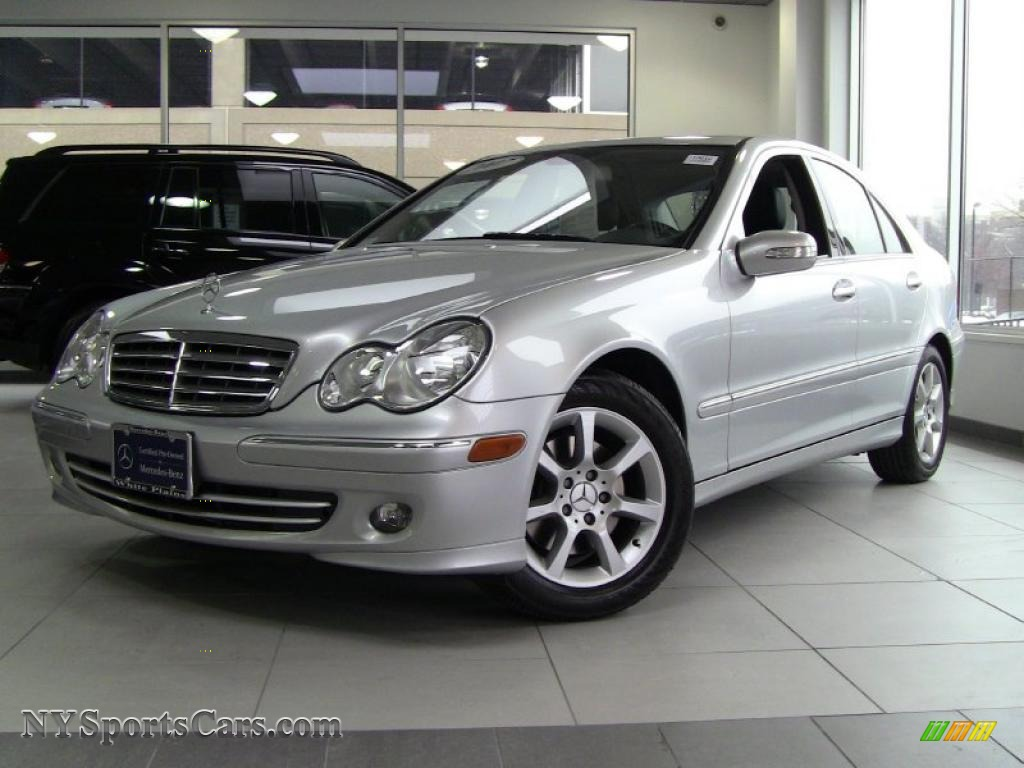 2007 mercedes benz c 280 4matic luxury in iridium silver for 2007 mercedes benz 280