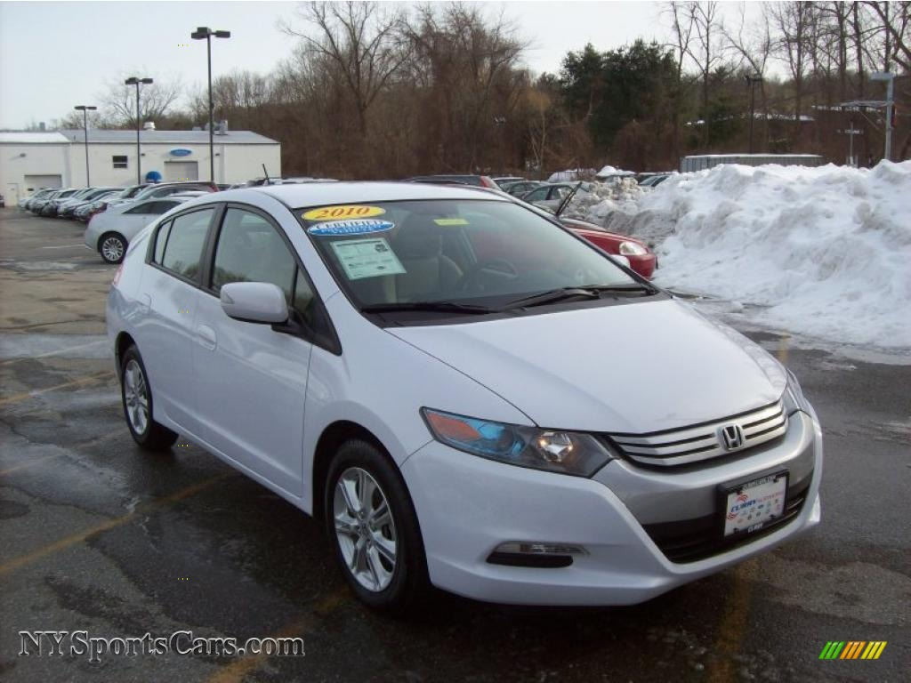 2010 Honda Insight Hybrid Ex In Spectrum White Pearl
