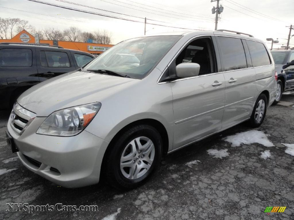 2006 honda odyssey ex l in silver pearl metallic 419042 cars for sale in. Black Bedroom Furniture Sets. Home Design Ideas
