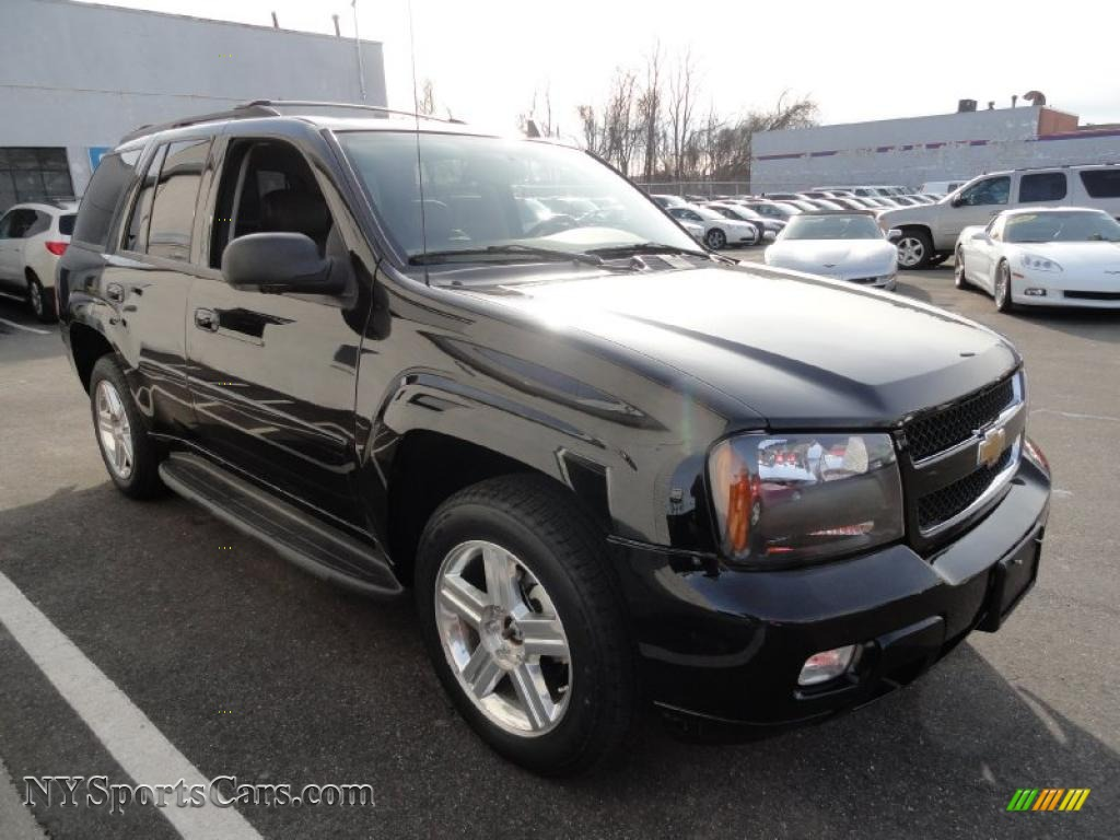 2008 chevrolet trailblazer lt 4x4 in black photo 7 104770 cars for sale. Black Bedroom Furniture Sets. Home Design Ideas