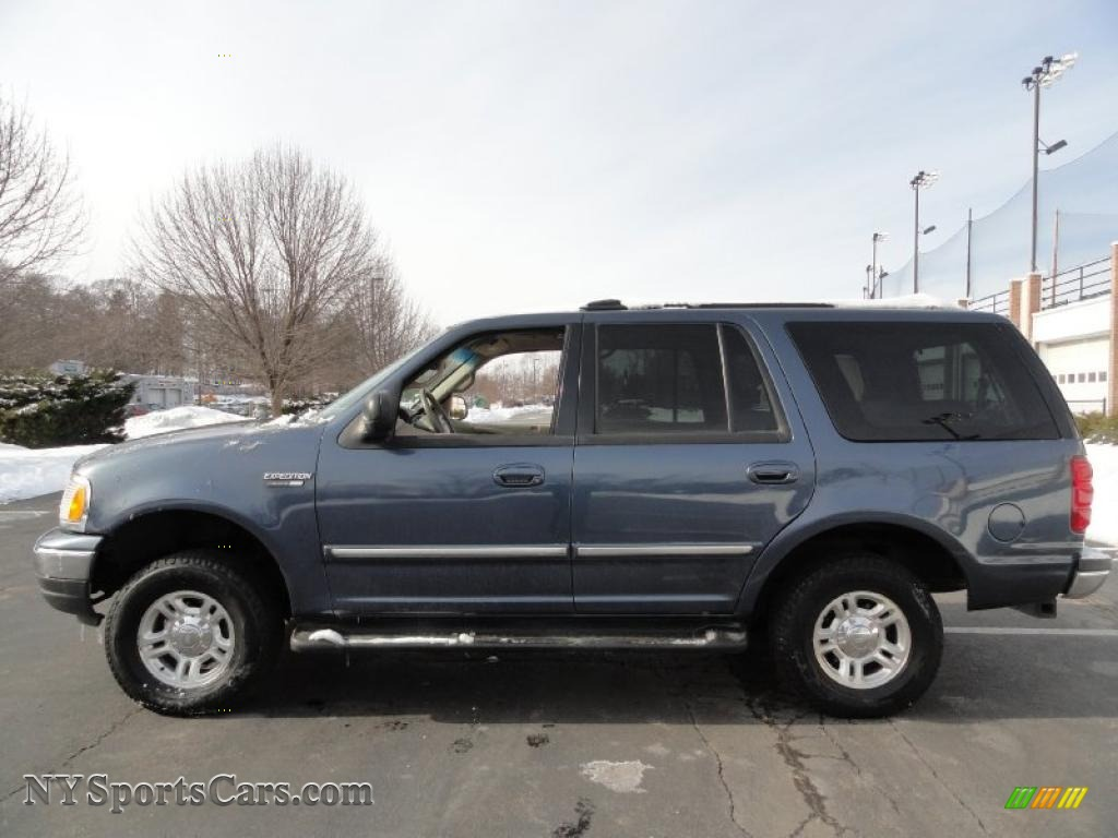 2001 ford expedition xlt 4x4 in medium wedgewood blue metallic photo 3 a54703 nysportscars. Black Bedroom Furniture Sets. Home Design Ideas