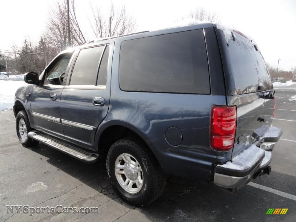 2001 ford expedition xlt 4x4 in medium wedgewood blue metallic photo 4 a54703 nysportscars. Black Bedroom Furniture Sets. Home Design Ideas