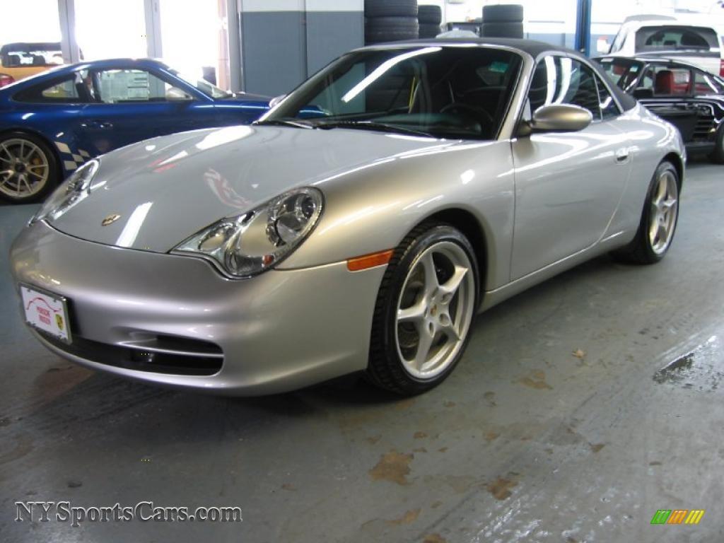 All Types 2003 911 : 2003 Porsche 911 Carrera Cabriolet in Arctic Silver Metallic ...