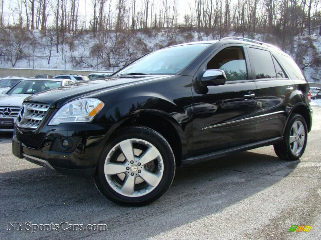 2009 mercedes benz ml 350 4matic in black 446915 for Mercedes benz 2009 for sale