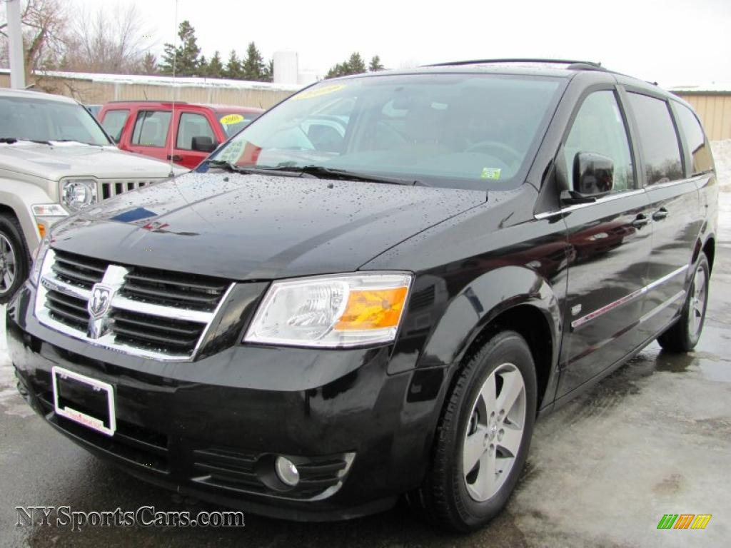 2009 dodge grand caravan sxt in brilliant black crystal. Black Bedroom Furniture Sets. Home Design Ideas