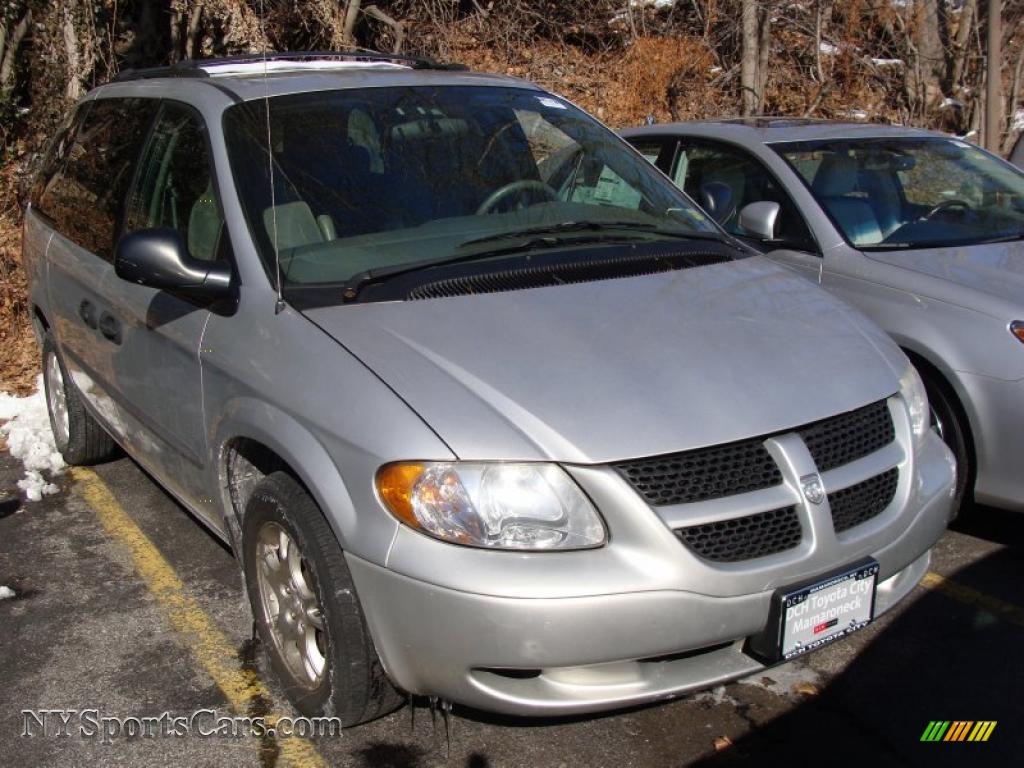 2003 Dodge Caravan SXT in Bright Silver Metallic 292219