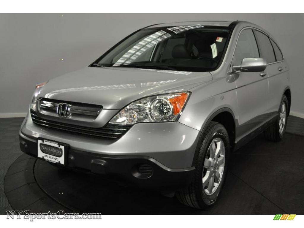 2008 Honda Cr V Ex L 4wd In Whistler Silver Metallic