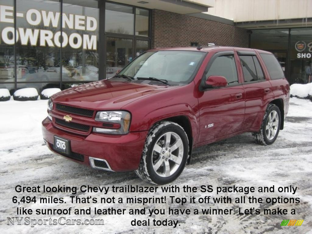2008 chevrolet trailblazer ss 4x4 in red jewel 175906 cars for sale in. Black Bedroom Furniture Sets. Home Design Ideas