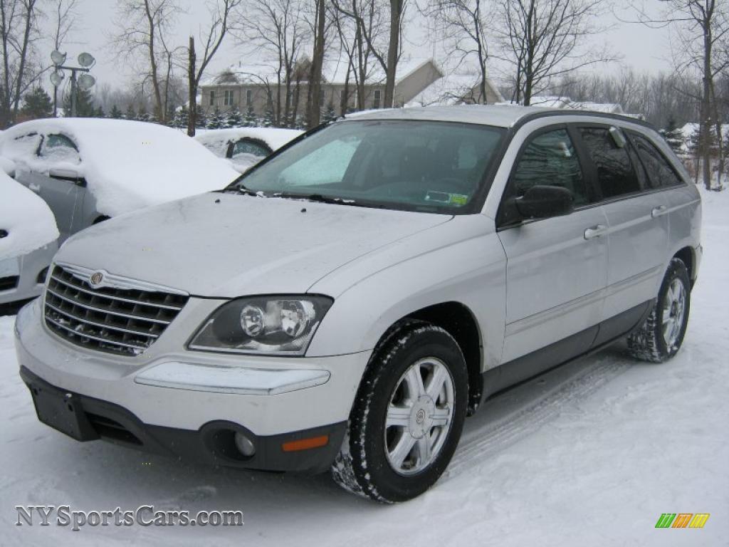 2004 Chrysler Pacifica Silver 2004 Pacifica Bright Silver