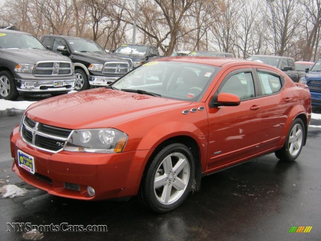 2008 dodge avenger r t in sunburst orange pearl 653266 cars for sale in. Black Bedroom Furniture Sets. Home Design Ideas