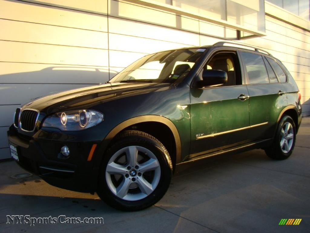 2007 Bmw X5 3 0si In Deep Green Metallic 019128