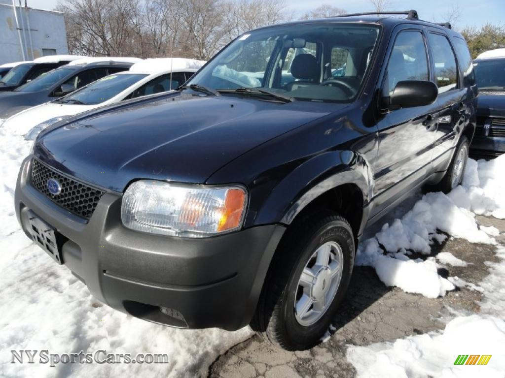 2004 ford escape xls v6 4wd in true blue metallic b39180. Black Bedroom Furniture Sets. Home Design Ideas