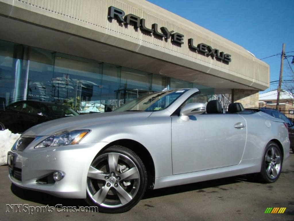 2010 lexus is 250c convertible in tungsten silver pearl. Black Bedroom Furniture Sets. Home Design Ideas