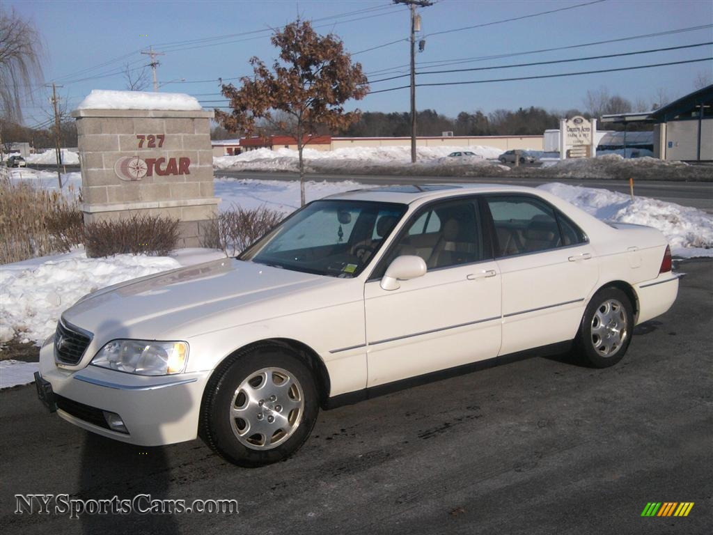 Acura RL Sedan In Premium White Pearl - 2000 acura rl for sale