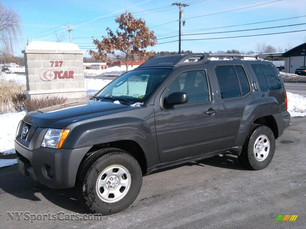 2008 Nissan Xterra S 4x4 In Night Armor Dark Gray 541744 Nysportscars Com Cars For Sale In