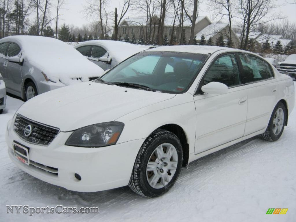 2005 Nissan Altima 2 5 S In Satin White Pearl 929213