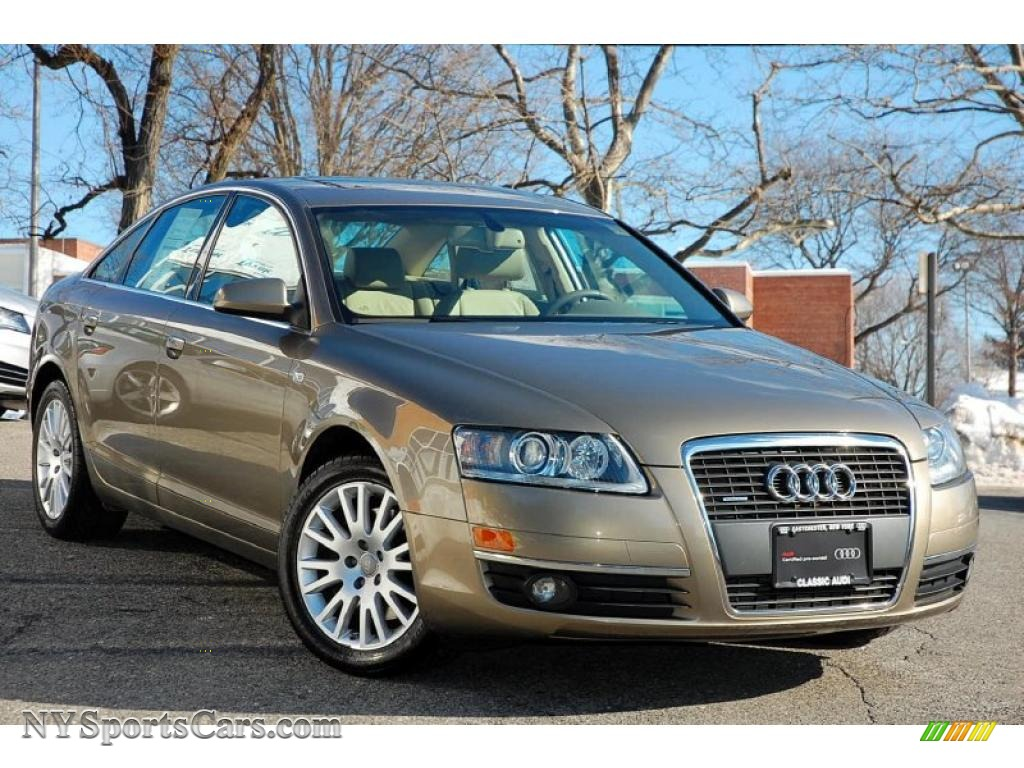 2006 Audi A6 3 2 Quattro Sedan In Dakar Beige Metallic Photo 7 081641 Nysportscars Com