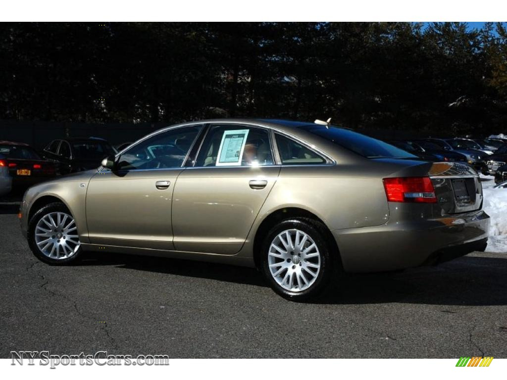 2006 Audi A6 3.2 quattro Sedan in Dakar Beige Metallic ...