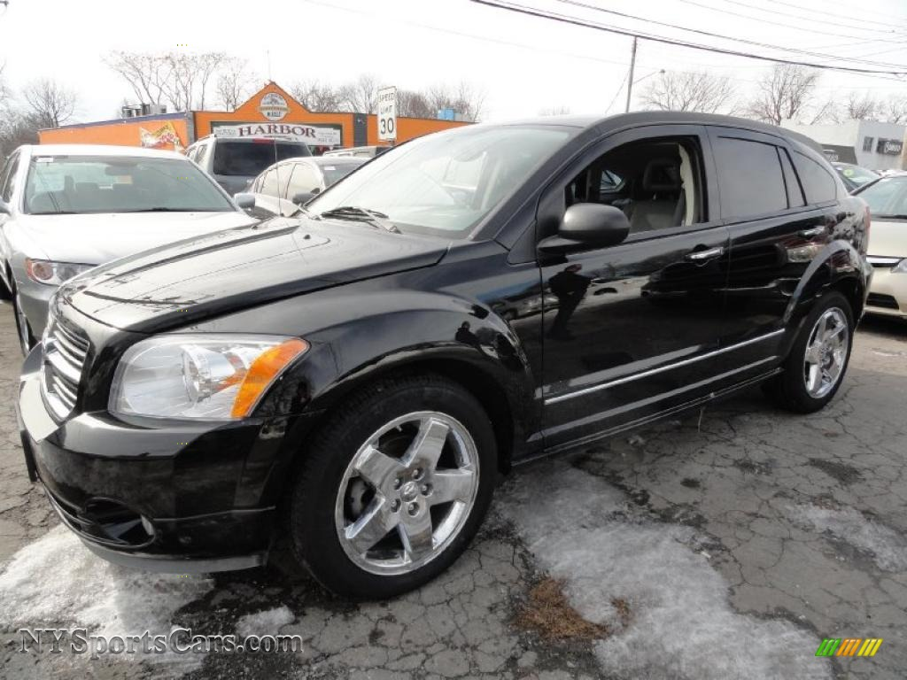 2007 dodge caliber r t awd in black 560039 cars for sale in new york. Black Bedroom Furniture Sets. Home Design Ideas