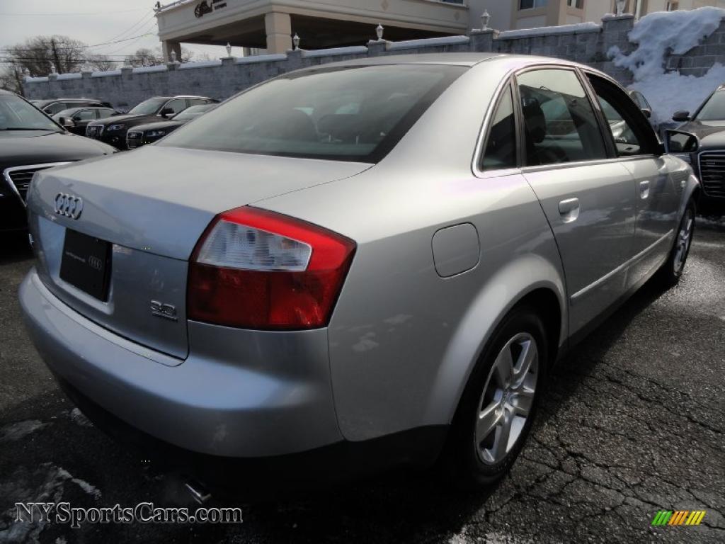 2003 audi a4 3 0 quattro sedan in light silver metallic photo 6 119857. Black Bedroom Furniture Sets. Home Design Ideas