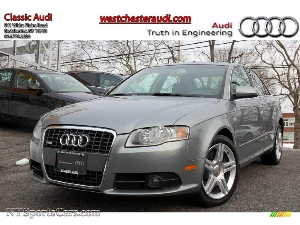 2008 audi a4 2 0t quattro s line sedan in quartz grey metallic 070561. Black Bedroom Furniture Sets. Home Design Ideas