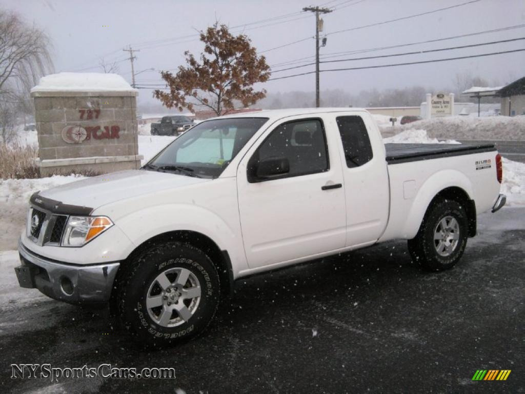 2005 nissan frontier nismo king cab 4x4 in avalanche white. Black Bedroom Furniture Sets. Home Design Ideas
