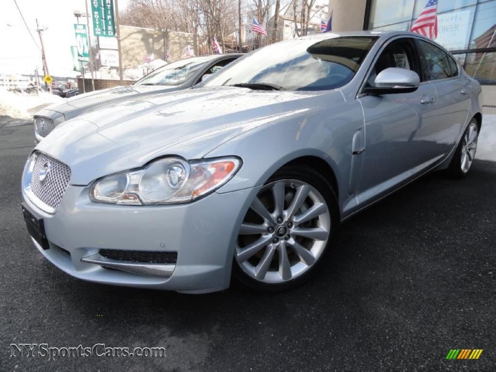 2010 jaguar xf premium sport sedan in liquid silver metallic r54357 cars. Black Bedroom Furniture Sets. Home Design Ideas
