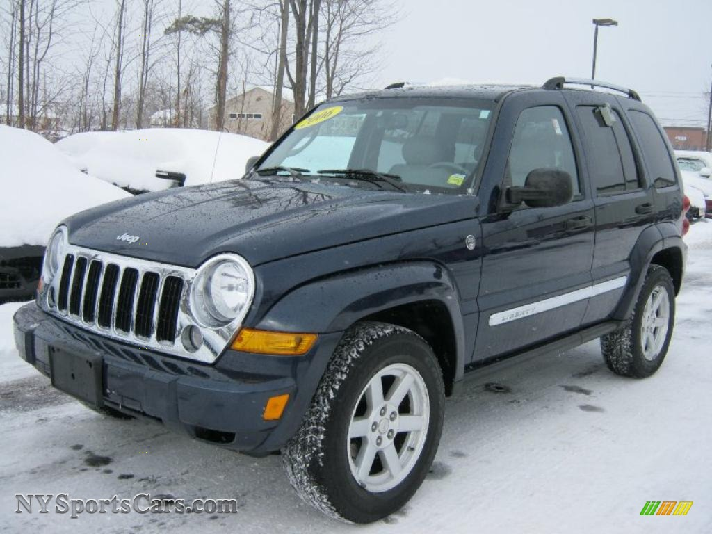 2006 jeep liberty limited 4x4 in midnight blue pearl 132456 cars for sale. Black Bedroom Furniture Sets. Home Design Ideas