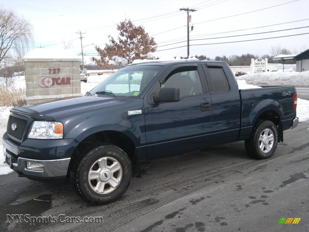 2004 ford f150 xlt supercab 4x4 in medium wedgewood blue. Black Bedroom Furniture Sets. Home Design Ideas