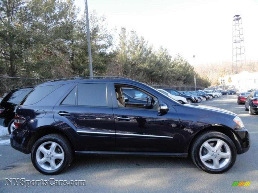 2008 mercedes benz ml 350 4matic in capri blue metallic for Mercedes benz northern blvd