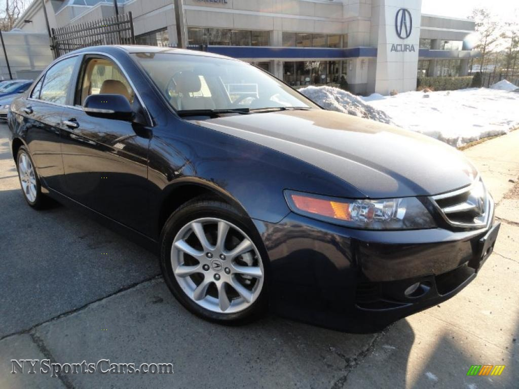 2008 acura tsx sedan in royal blue pearl 017960 cars for sale in new york. Black Bedroom Furniture Sets. Home Design Ideas