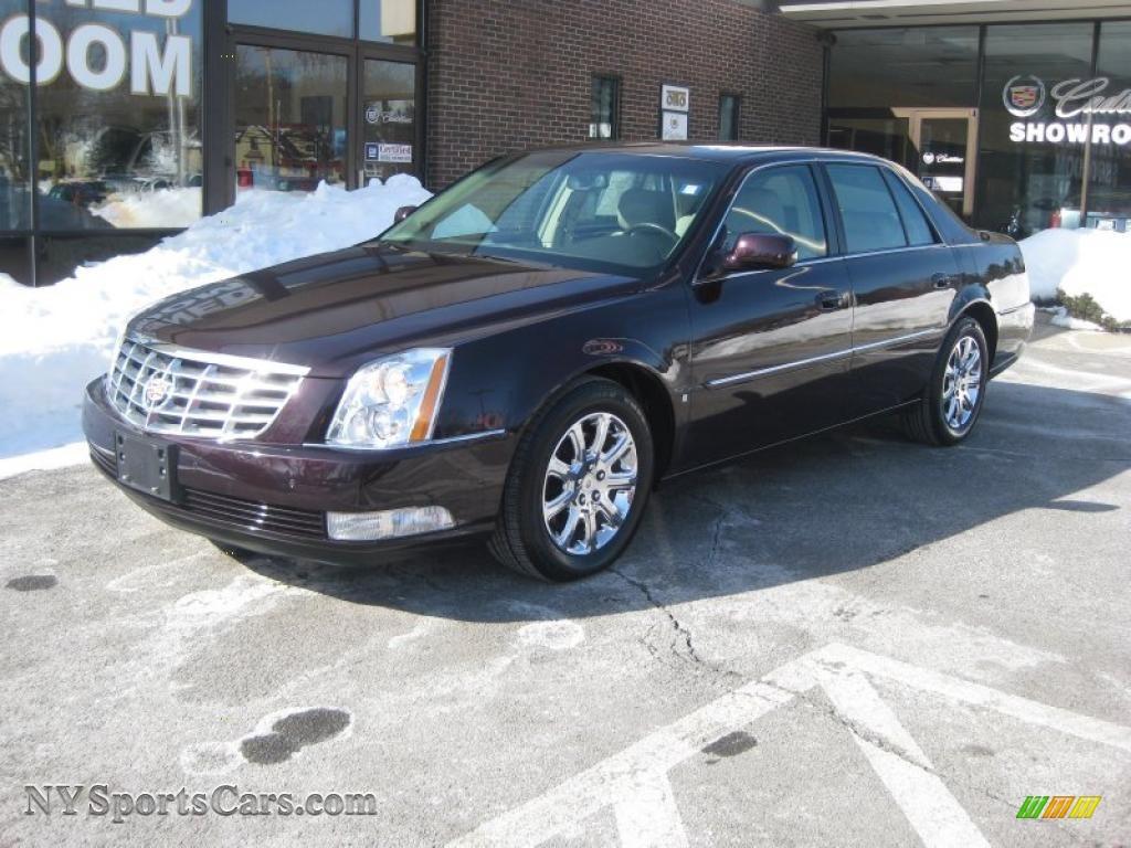 2008 Cadillac Dts In Black Cherry 165126 Nysportscars
