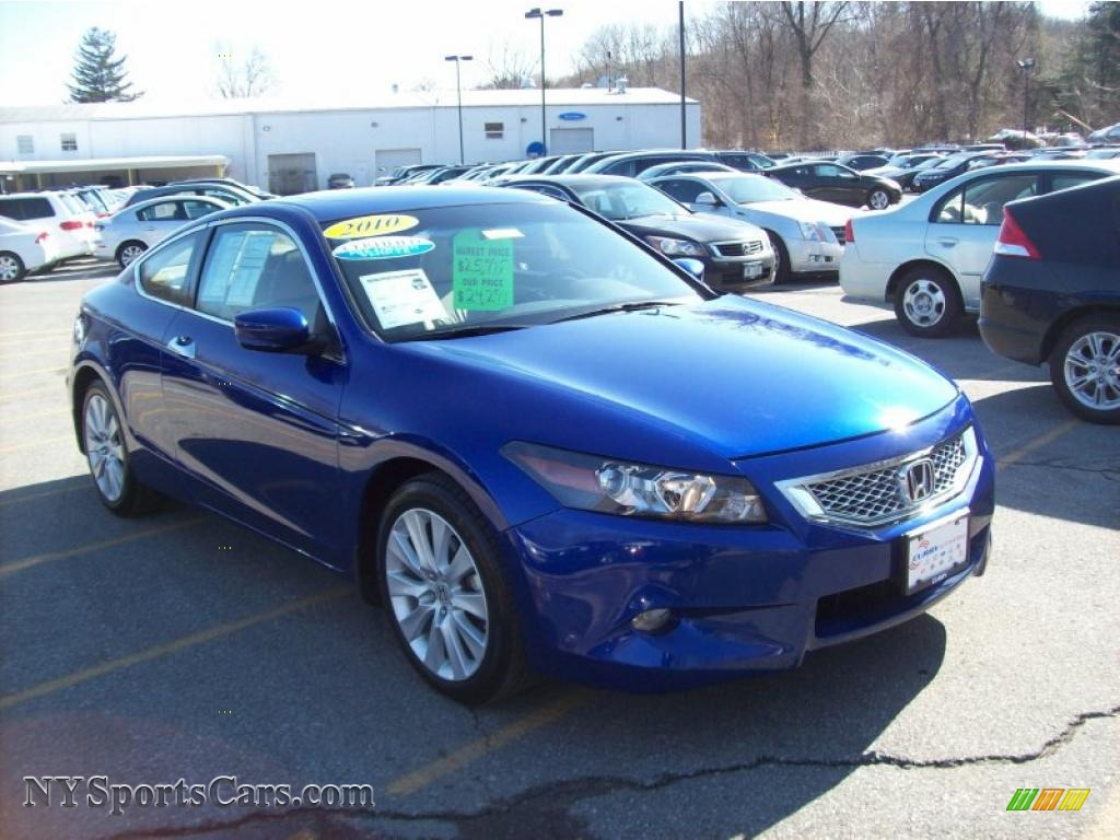 2010 honda accord ex l v6 coupe in belize blue pearl for Honda accord coupe for sale
