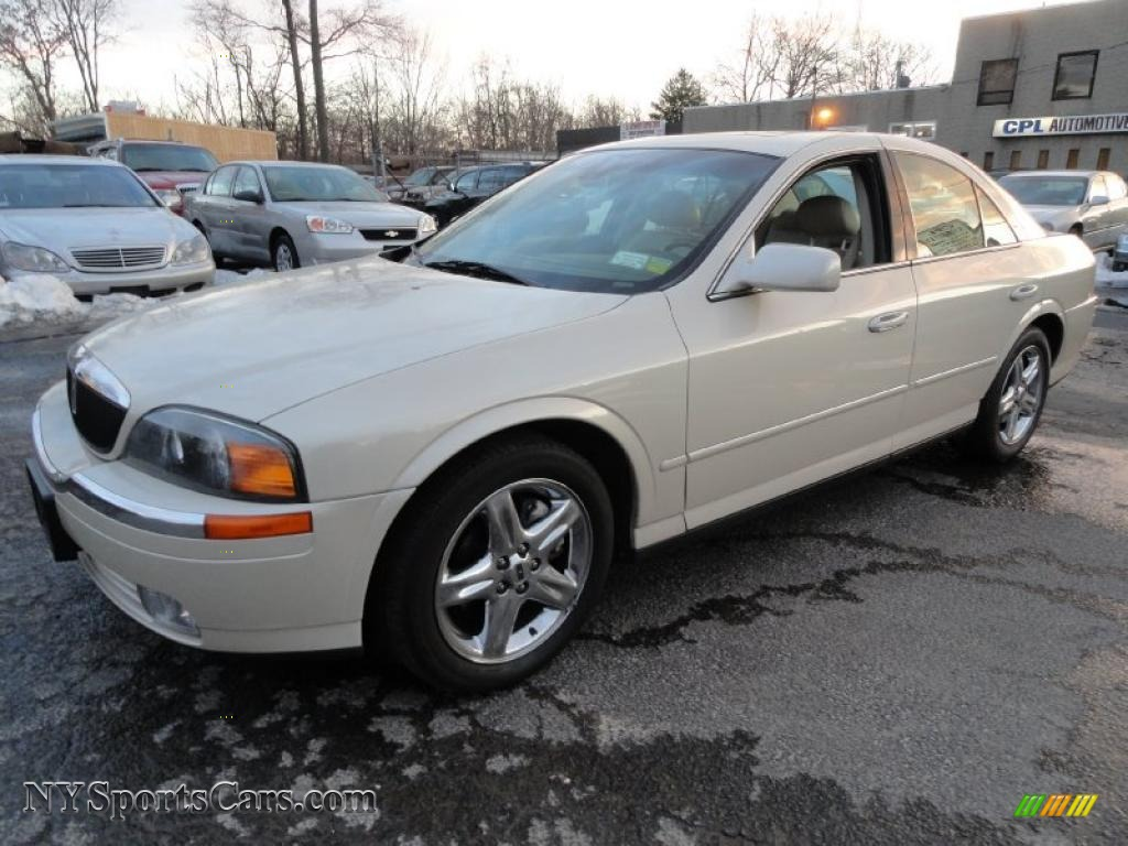 2002 Lincoln Ls V8 In Ivory Parchment Pearl Tri Coat