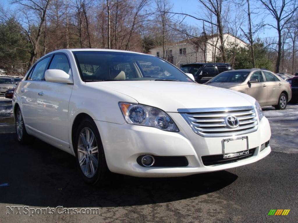 2008 toyota avalon limited in blizzard white pearl 279050 cars for sale. Black Bedroom Furniture Sets. Home Design Ideas