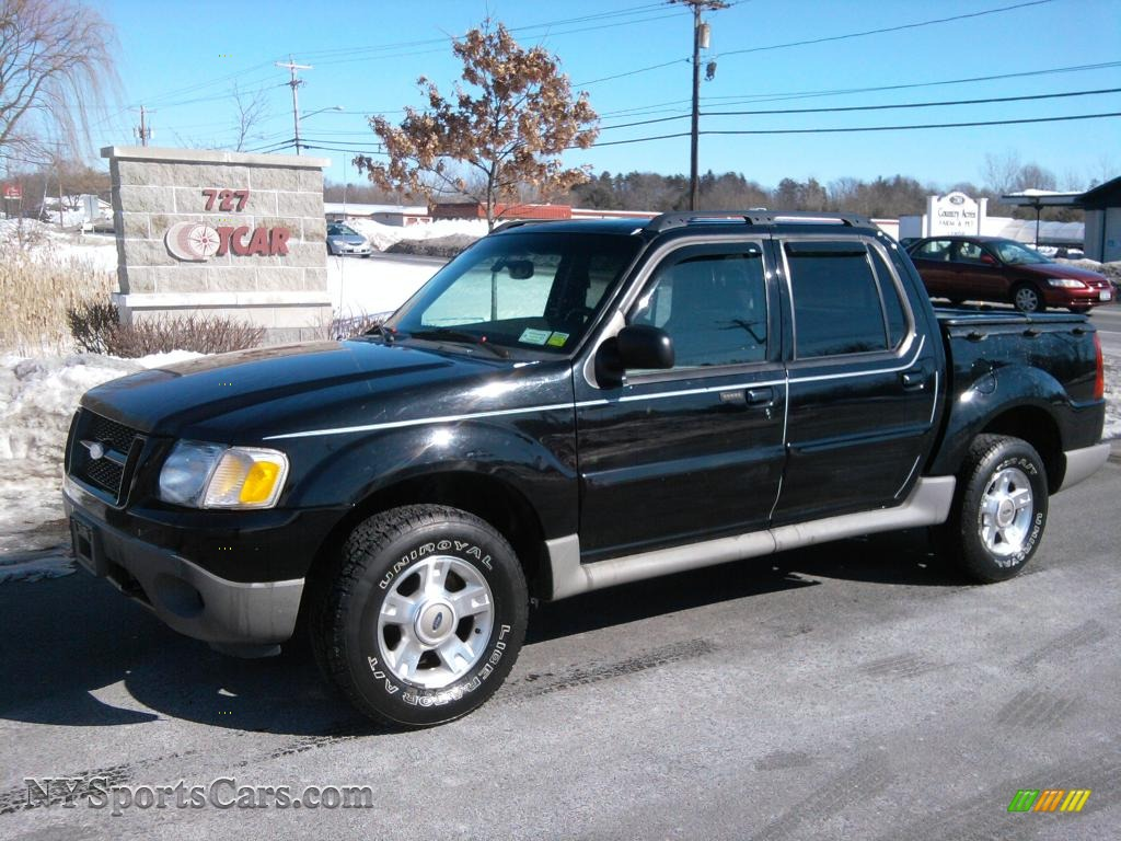 2002 ford explorer sport trac 4x4 in black c94043 cars for sale in new york. Black Bedroom Furniture Sets. Home Design Ideas