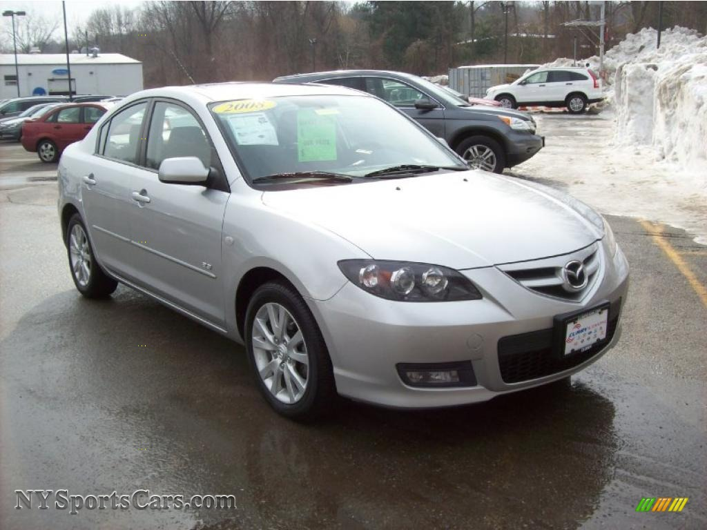 2008 mazda mazda3 s sport sedan in crystal white pearl. Black Bedroom Furniture Sets. Home Design Ideas