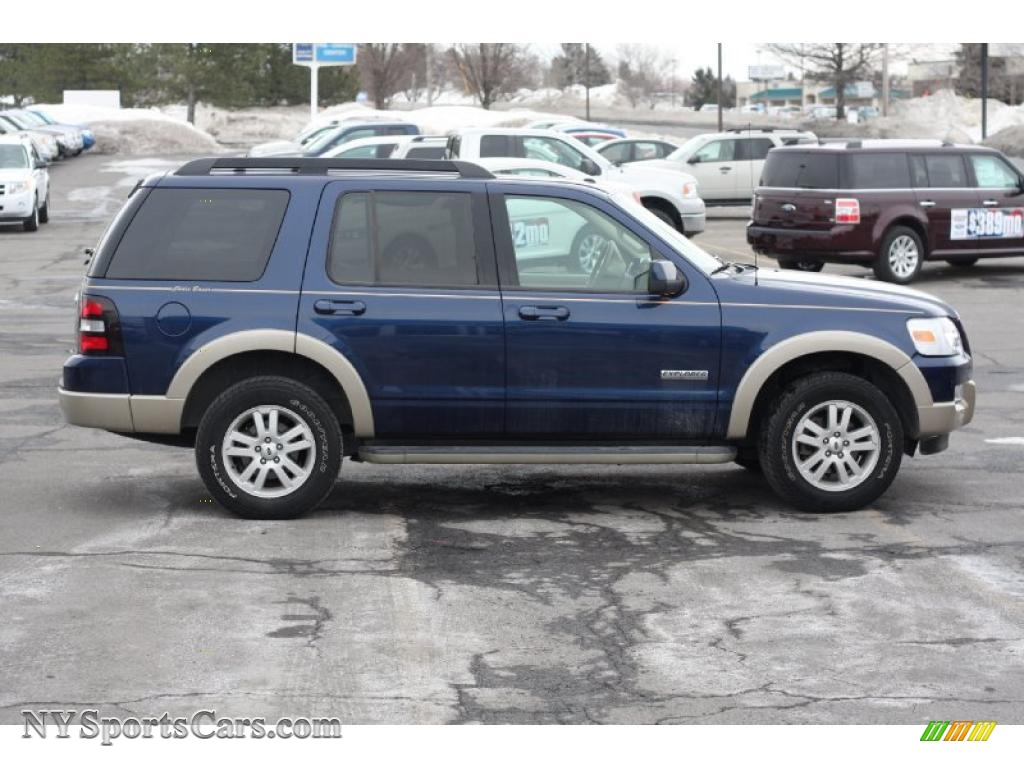 2008 ford explorer eddie bauer 4x4 in dark blue pearl metallic. Cars Review. Best American Auto & Cars Review