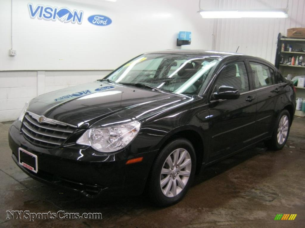 2010 Chrysler Sebring Limited Sedan In Brilliant Black