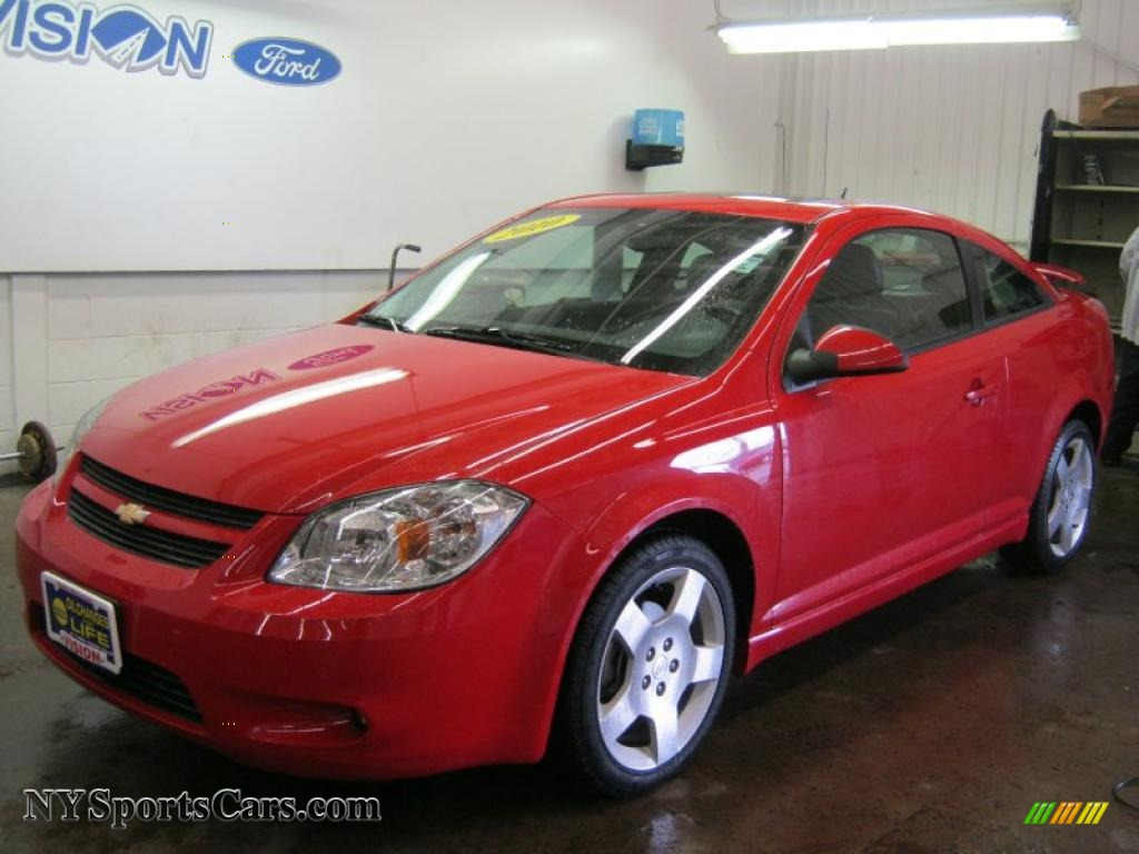 2010 chevrolet cobalt lt coupe in victory red 222350 cars for sale in new. Black Bedroom Furniture Sets. Home Design Ideas