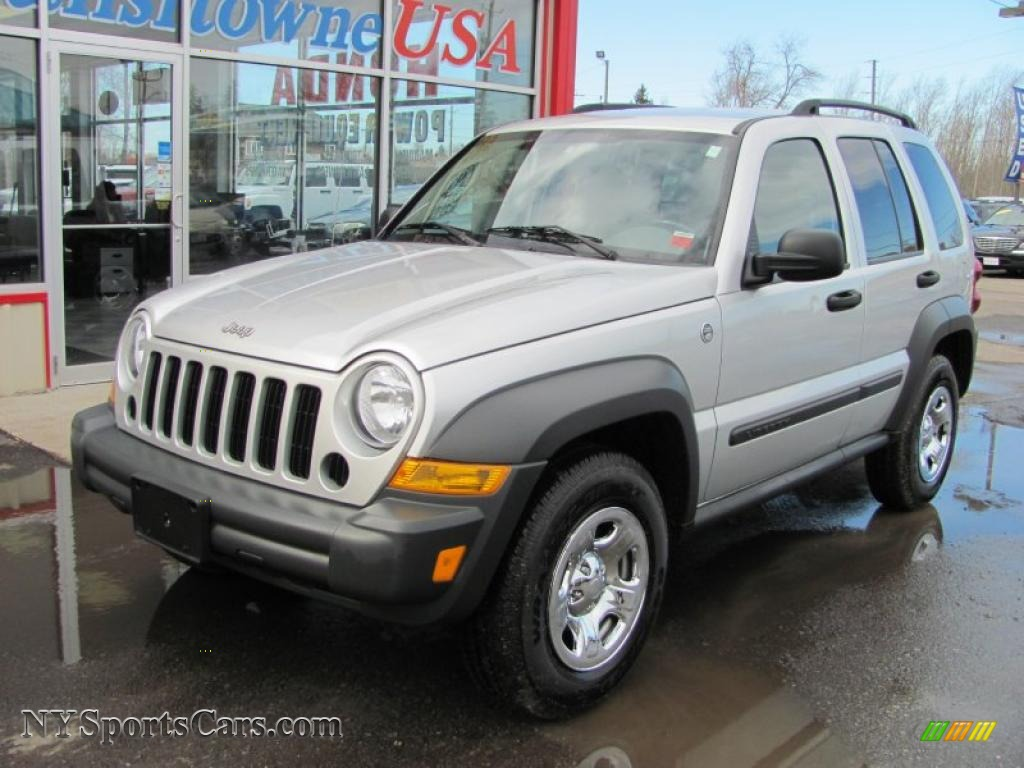 2006 jeep liberty sport 4x4 in bright silver metallic - 164116