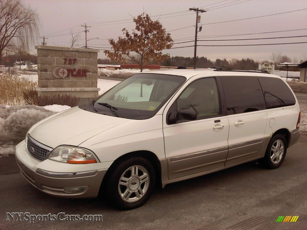 2003 Ford Windstar SEL in Vibrant White - A07849 | NYSportsCars.com - Cars for sale in New York