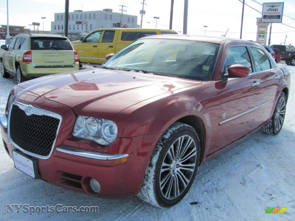 Inferno Red Crystal Pearl Dark Slate Gray Chrysler 300 Touring Dub Edition