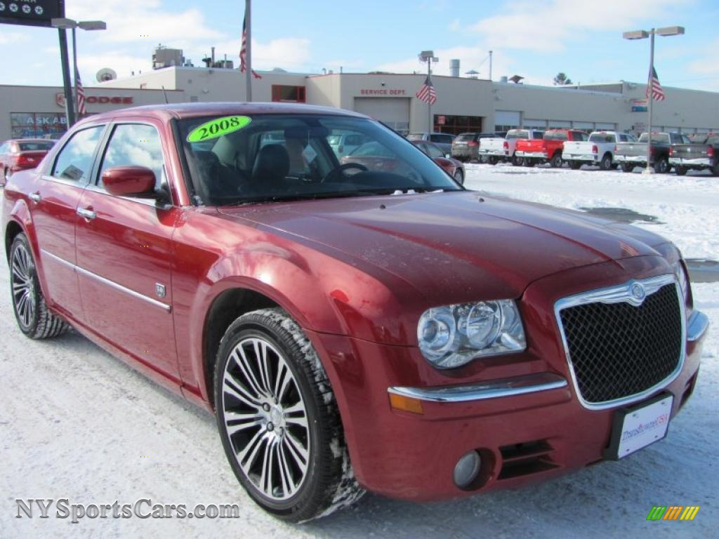 2008 chrysler 300 touring dub edition in inferno red crystal pearl photo 20 307244. Black Bedroom Furniture Sets. Home Design Ideas