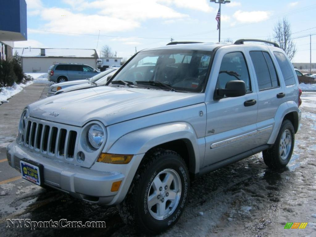 2006 Jeep Liberty Sport 4x4 in Bright Silver Metallic ...