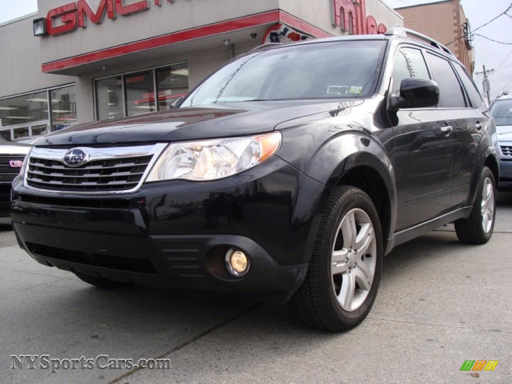 2009 Subaru Forester 2 5 X Limited In Obsidian Black Pearl